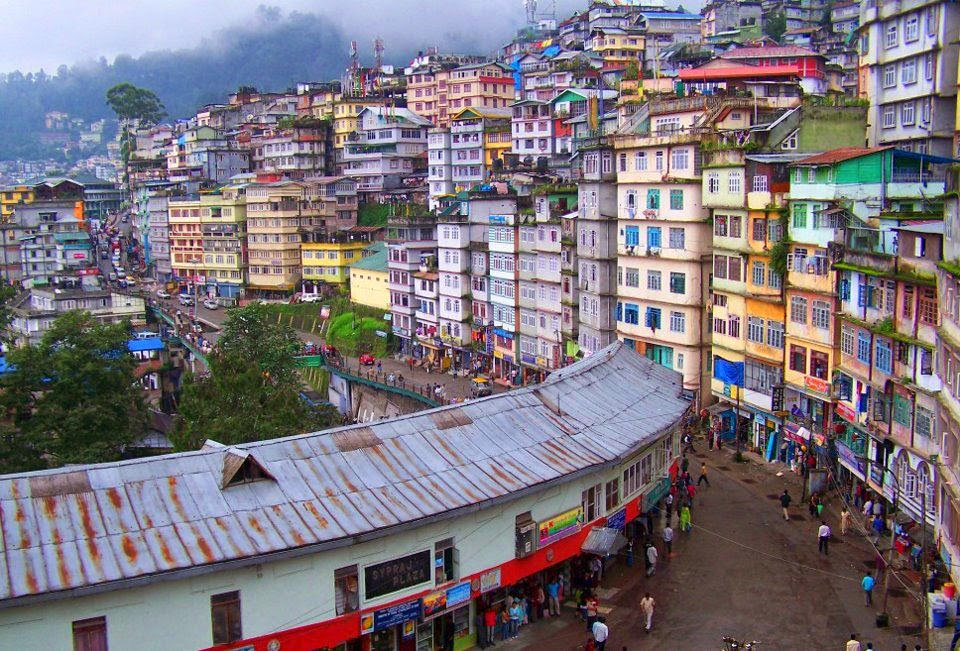 Mall Road Sikkim